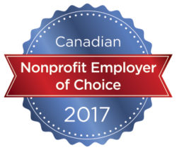 Canadian Non-Profit Employer of the Year 2017