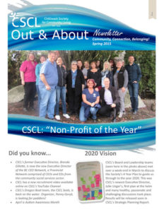 CSCL Newsletter - Spring 2016