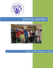 CSCL Annual Report 2009 Cover
