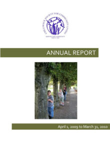 CSCL Annual Report 2010 Cover