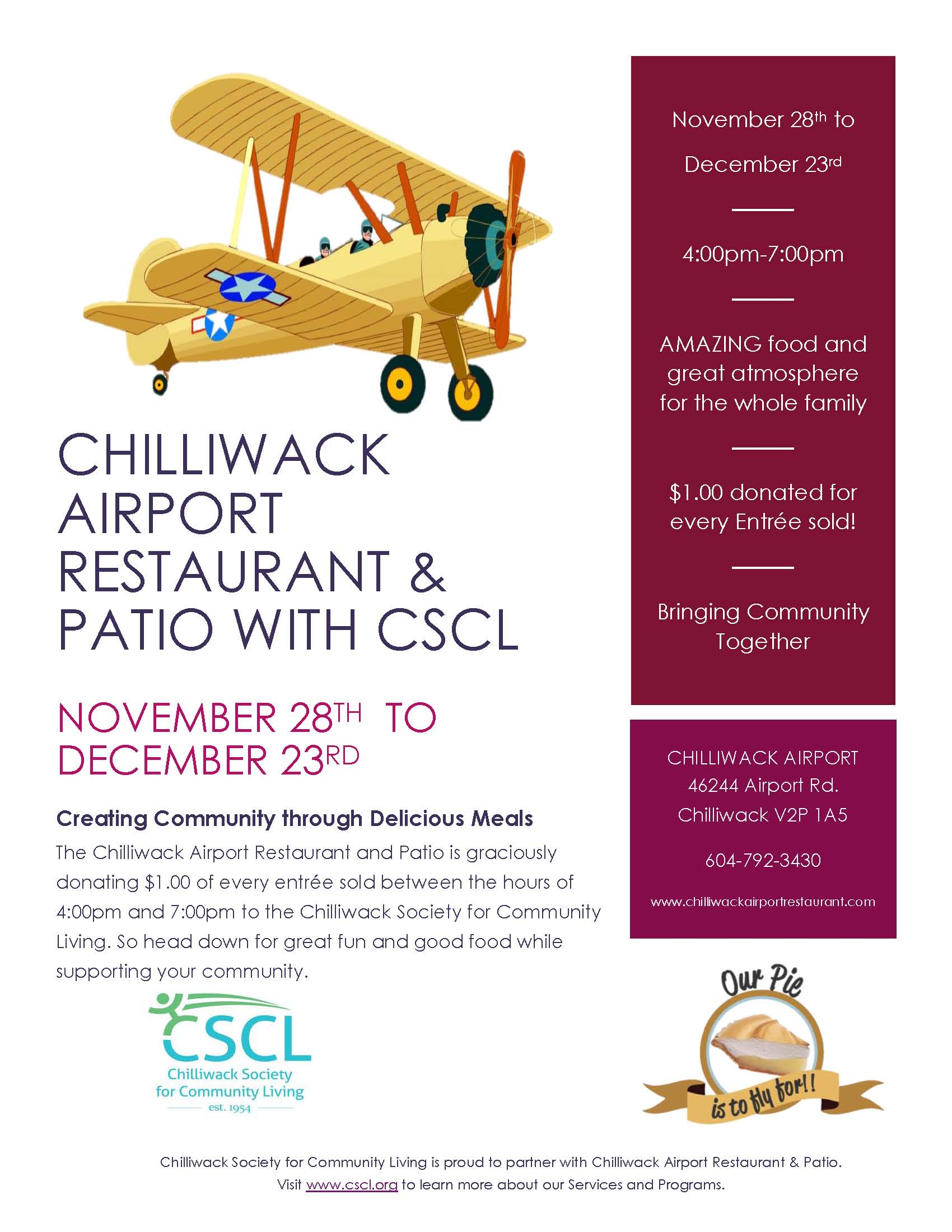 Chilliwack Airport & CSCL