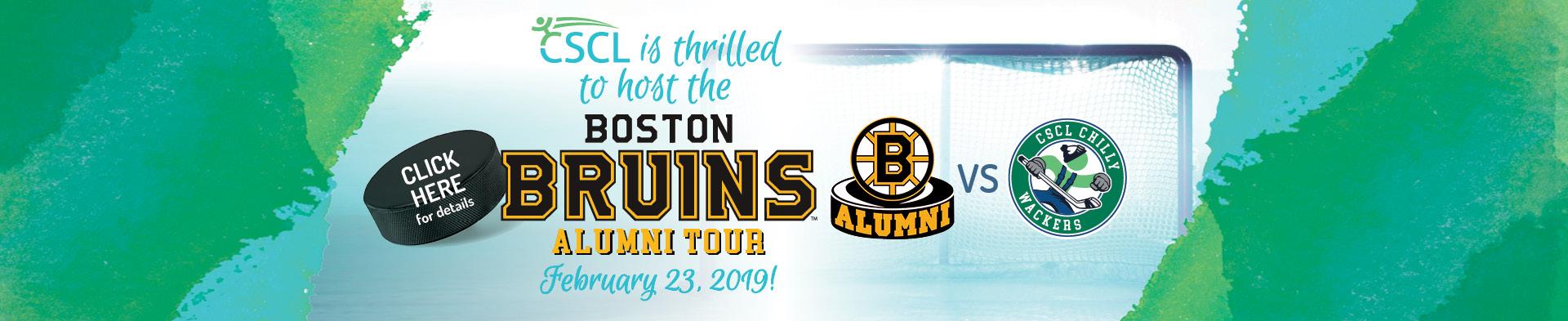 CSCL Hockey Series - Boston Bruins