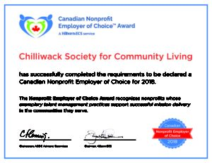 Chilliwack Society for Community Living