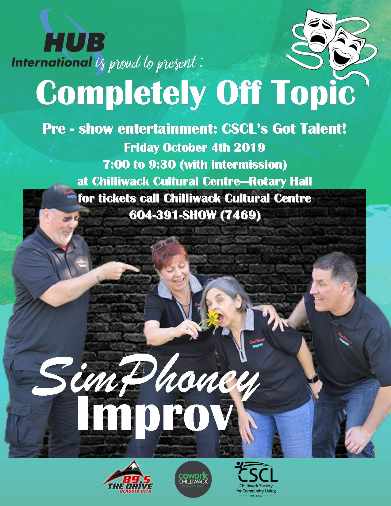 improv flyer with info