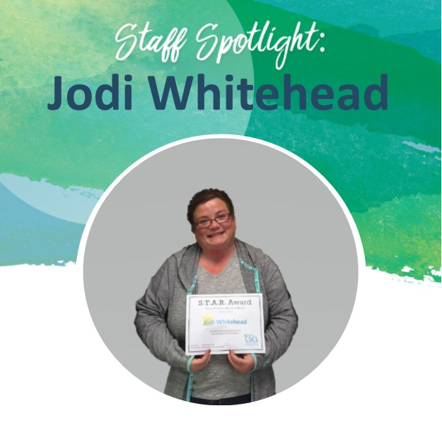 WHITEHEAD, Jodi - Staff Spotlight Photo