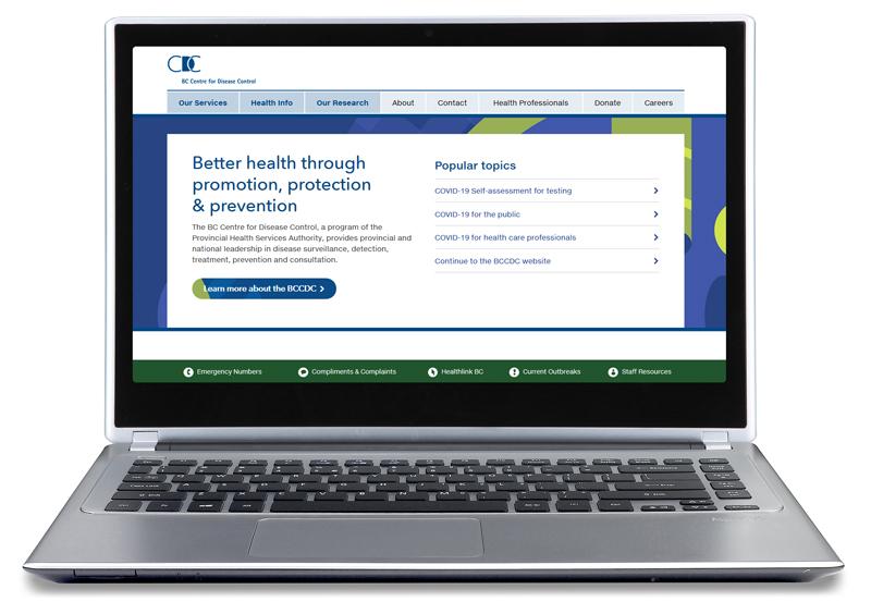 Laptop - BC CDC