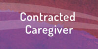 Apply to become contracted caregiver